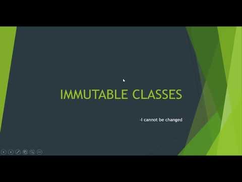 Java Interview Question : Immutable Classes