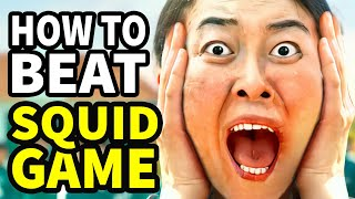 """How To Beat Every DEATH GAME In """"SQUID GAME"""""""