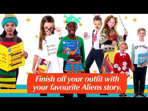 How to dress up as Aliens Love Underpants on World Book Day