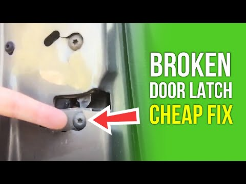 Day 219 - How To Fix A Broken Jeep Grand Cherokee Door Latch