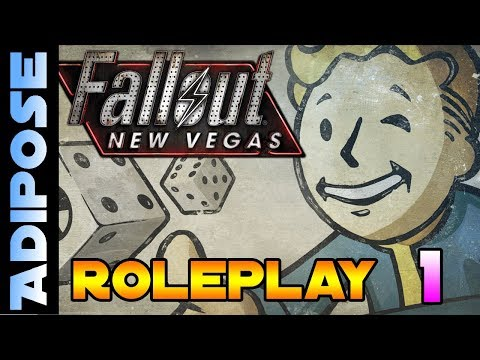 Let's Roleplay Fallout New Vegas #1 'Aint that a shot in the head