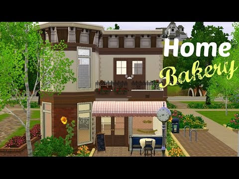 Sims 3 House Building - Home Bakery (Starter Home)