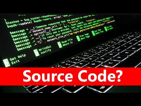 How to get Source code of website