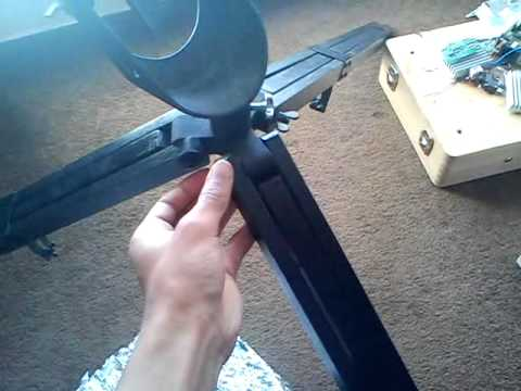 self build camera tripod (holder)