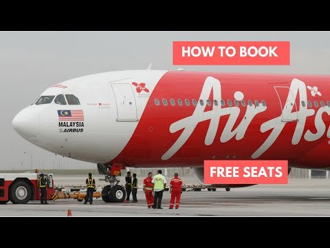 How to Book AirAsia Free Seats during promotion