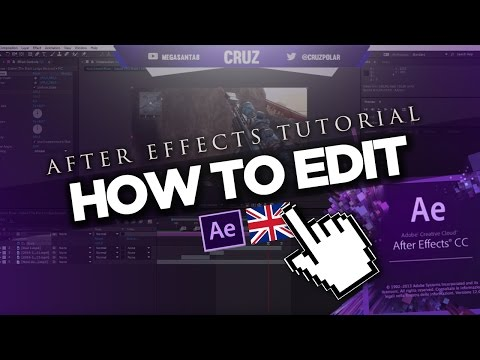 After Effects - How to Edit (Easy Clip Editing!)