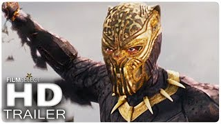 BLACK PANTHER Trailer 2 Español (Extendido) Marvel 2018