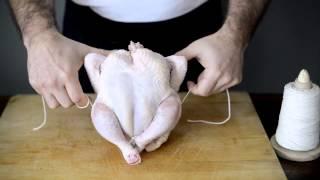 How To Truss A Chicken Chickenrecipeboxcom