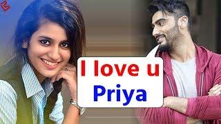Arjun Kapoor को हुआ Priya Prakash से प्यार, सरेआम कर दी ऐसी हरकत