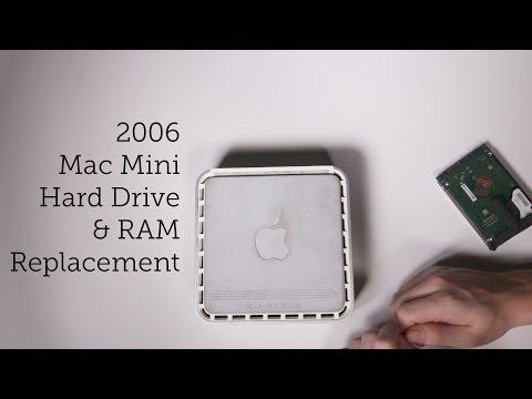 Mac Mini Hard Drive & RAM Upgrade (2006)