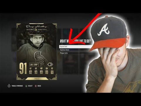 NHL 18 | 91 OVR HEATLEY QUICKSELL CHALLENGE