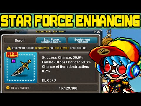 Maplestory: Enhancing with Star Force