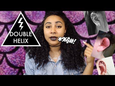 REVIEW: DOUBLE CARTILAGE / DOUBLE HELIX PIERCING