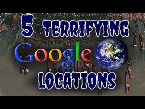 5 Terrifying Google Earth Locations