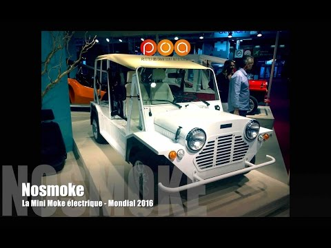nosmoke la mini moke lectrique mondial de l 39 automobile. Black Bedroom Furniture Sets. Home Design Ideas