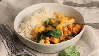 Sweet Potato & Vegetable Curry   Ep. 1297