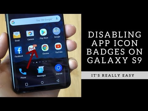How to Disable Icon Notification Badges on Galaxy S9