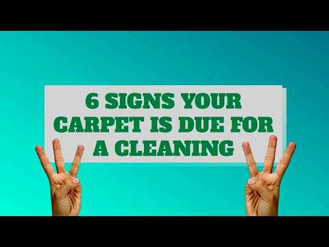 6 Signs Your Carpet Needs Cleaning