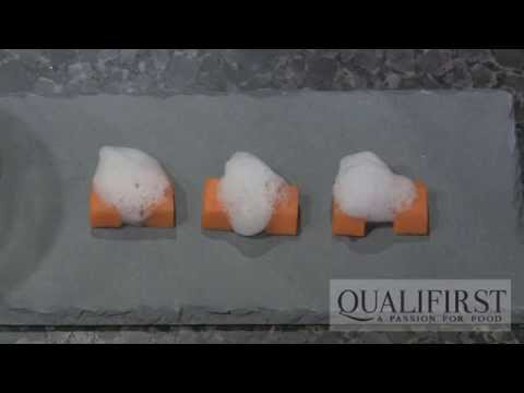 Making a Light Citrus Air using Soy Lecithin with Chef John Placko