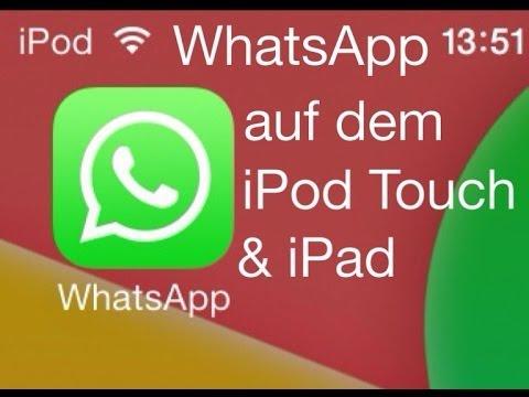 WhatsApp auf dem iPod Touch & iPad installieren und nutzen - so geht's