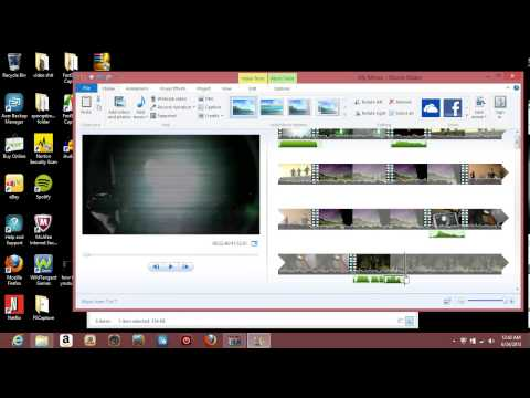 how to make a basic youtube poop/ edit in windows movie maker (tutorial)
