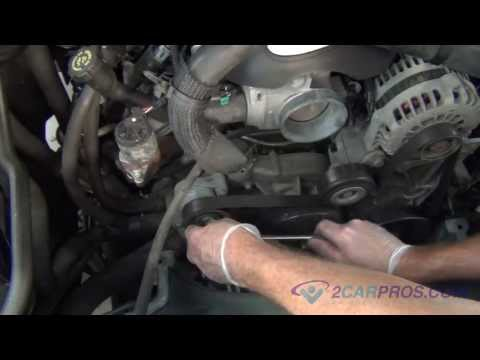 Serpentine Belt Replacement Chevrolet Tahoe, Suburban, SIlverado