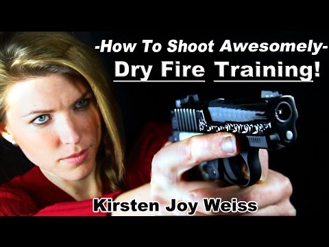 How To Shoot A Gun Awesomely - Dry Fire Training Technique | Pro Shooting Tips #3