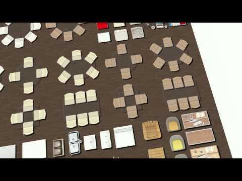 Floor plans software - Brown Symbols