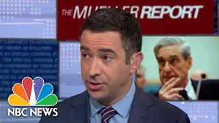 Three Headlines From The Release Of The Robert Mueller Report   NBC News