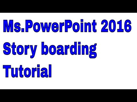 Ms.PowerPoint 2016 Storyboarding   Ms.PowerPoint 2016 Tutorial for Beginners