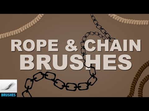 Create Rope and Chain Brushes — Photoshop Tutorial