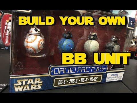 Star Wars The Last Jedi | BB Droid Factory Figure Set | Disney Parks | The Dan-O Channel