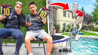 Greatest Pool Dunk Contest Of All Time!