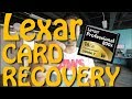 data recovery on Compact Flash Card | Lexar Professional 800x 16GB