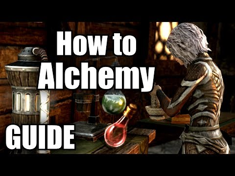 ESO *FULL* Alchemy Guide How to level & Craft ELDER SCROLLS ONLINE