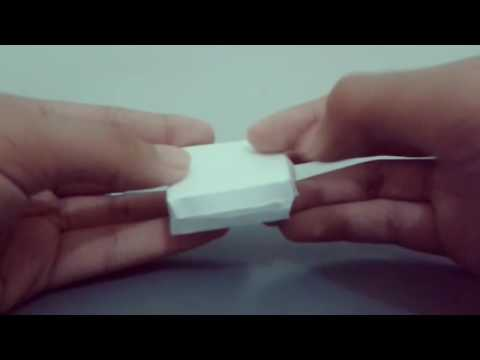 Origami How to make pizza box