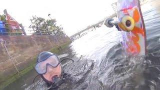 Scuba Divers Found my Skateboard?!!