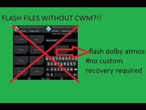 [4.0+] GET Dolby Atmos on ANY android device without custom recovery FLASH FILES WIHTOUT CWM 