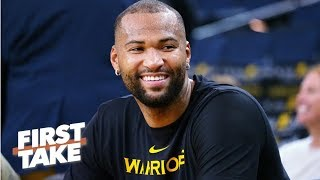 Does DeMarcus Cousins give the Warriors the greatest starting five ever?   First Take