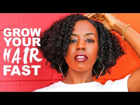 How To Grow Out Your Transitioning Hair SUPER Fast in Under 1 Year!