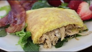 Thanksgiving Leftover Recipes How To Make A Turkey Filled Omelette