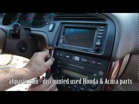 How to change replace install speedometer instrument cluster gauge 1999 2000 2001 2002 2003 Acura TL