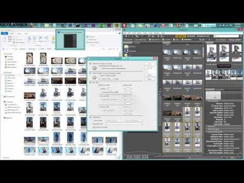 (Batch Export)Raw To JPG : Photoshop CS6 Tutorial