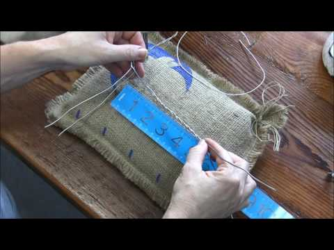 How to Needle Felt a Donkey: Part 1 Armature and Wrapping