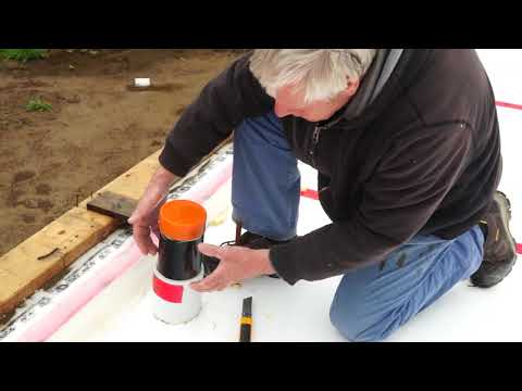 Passive House Build in Port Alberni BC  Narration from the Foundation up to the Wall construction