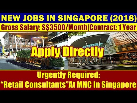 Jobs In Singapore:
