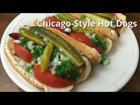 Chicago Hot Dogs | Grilled Chicago Style Dog Malcom Reed HowToBBQRight