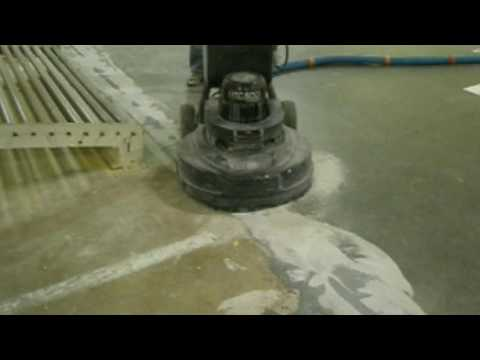 How to fill cracks with epoxy and grind them smooth afterwards, Concrete Floor Solutions, Inc.