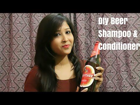 DIY Beer Shampoo & conditioner   Soft Silky Hair  Indian blogs sarmistha