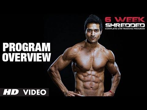 Program Overview: Guru Mann 6 Week Shredded Program